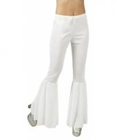 Hippie broek wit voor dames