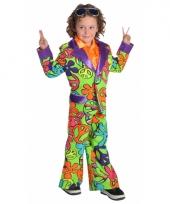 Hippie carnavalskleding jongens