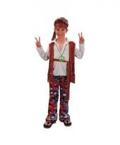 Hippie carnavalskostuum voor jongens