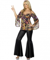 Hippie dames kostuum
