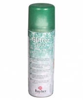 Hobby glitterspray groen