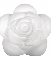 Hobbymateriaal piepschuim rozen 11 cm