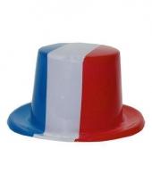 Hoed in franse kleuren