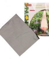 Hoes voor parasol grijs 120 cm