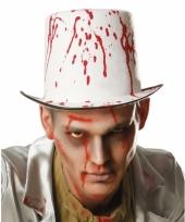 Hoge verkleed hoed met bloedspetters