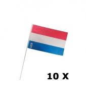 Holland feest vlaggetjes 10 stuks