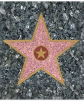 Hollywood thema servetjes 16 stuks