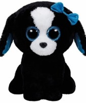 Hond puppy knuffels tracey ty beanie 24 cm