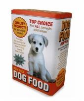 Honden brokken bewaarblik 24 cm