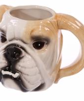 Honden drinkbeker bulldogs