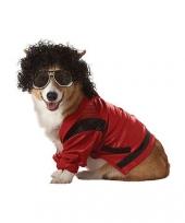 Honden kostuum michael jackson