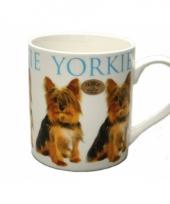 Honden mok yorkshire terrier