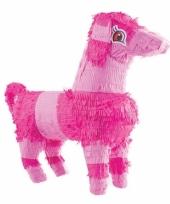 Honden pinata roze 52 cm