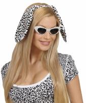 Honden puppy oortjes dalmatier