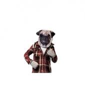 Hondenkop verkleedset voor volwassenen