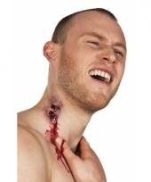 Horror wond vampier bijtwond