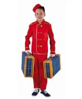Hotelbediende pak voor kinderen