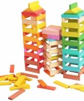 Houten bouwstenen 150 stuks