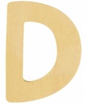 Houten naam letter d 10055562