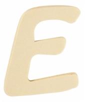 Houten naam letter e 10055563