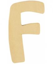 Houten naam letter f 10055564