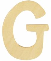 Houten naam letter g 10055565