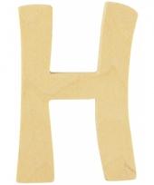 Houten naam letter h 10055566