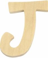Houten naam letter j 10055568