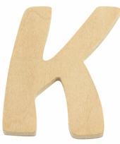 Houten naam letter k 10055569