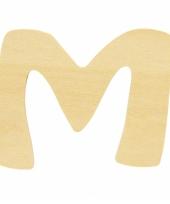 Houten naam letter m 10055571