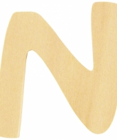 Houten naam letter n 10055572