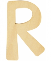 Houten naam letter r 10055576