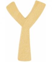 Houten naam letter y 10055583