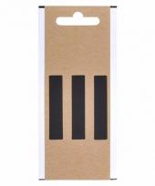 Huisvuil containersticker verticaal streepje 5 cm