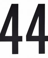 Huisvuil containerstickers cijfer 44 10 cm