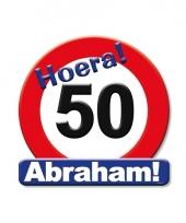 Huldeschild hoera abraham 50 jaar