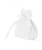 Huwelijkbedankjes kadodoosjes bruid 10x