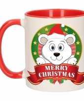Ijsbeer melk mok beker voor kerst 300 ml