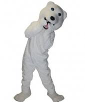 Ijsberen mascotte kostuum
