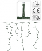 Ijspegel lichtsnoer gekleurd 5 8 meter