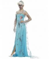 Ijsprinsessen verkleedjurk met bloed