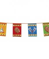 Indianen feest vlaggenlijn 10 meter
