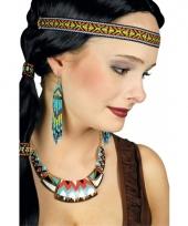 Indianen halsketting voor vrouwen