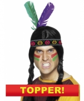 Indianen hoofd veren 10049659