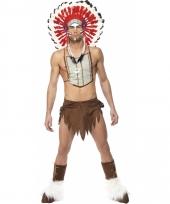 Indianen kostuums voor mannen
