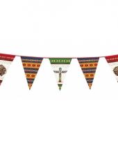 Indianen versiering vlaggenlijn