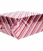 Inpakpapier gekleurde strepen