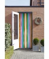 Insecten deurgordijn multikleur 200 cm