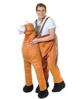 Instap paarden kostuum voor volwassene