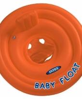 Intex opblaasbare kinder zwem ring rood 76 cm